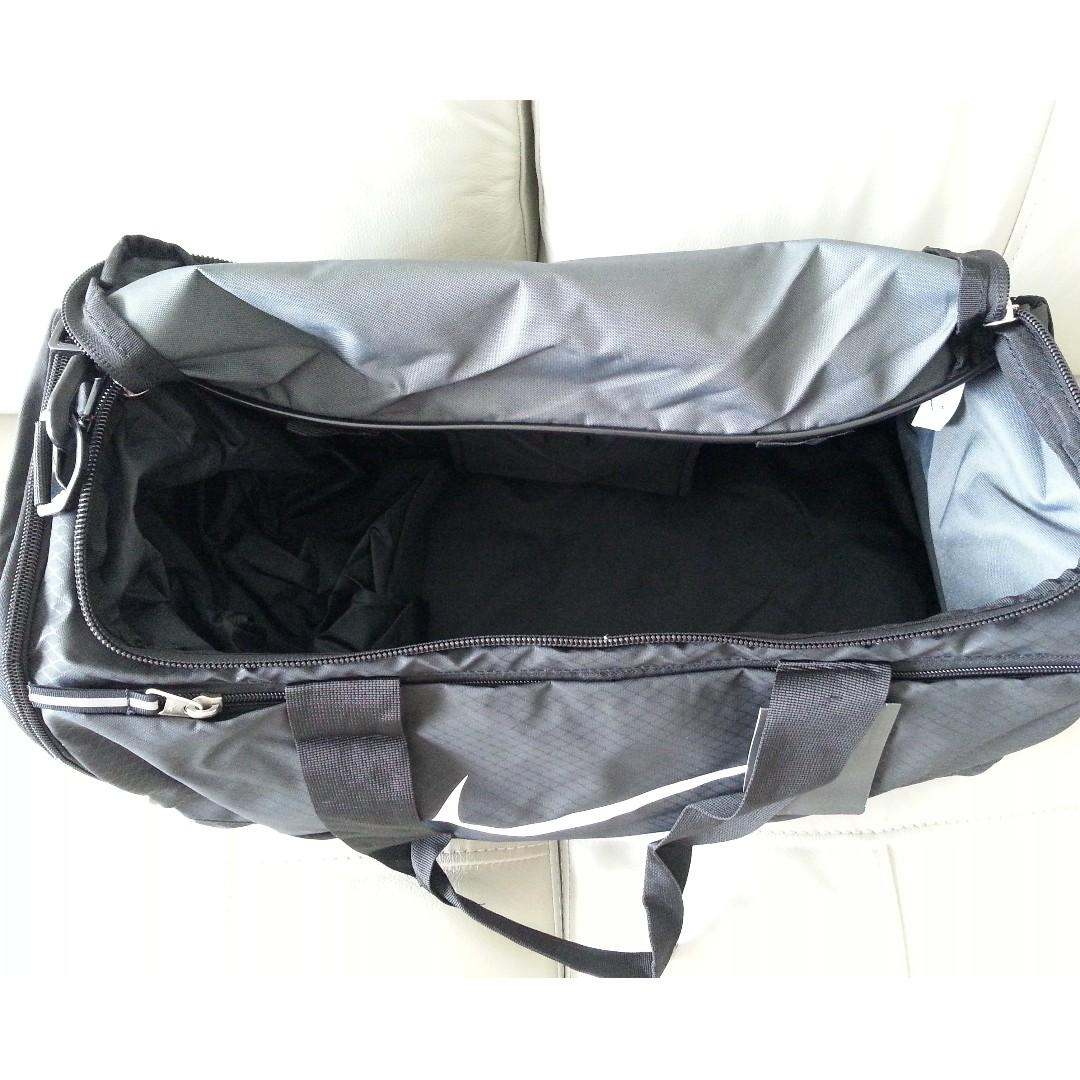 Nike Sports Shoulder-carrying Bag- Black-Made in Indonesia (Ref 197)