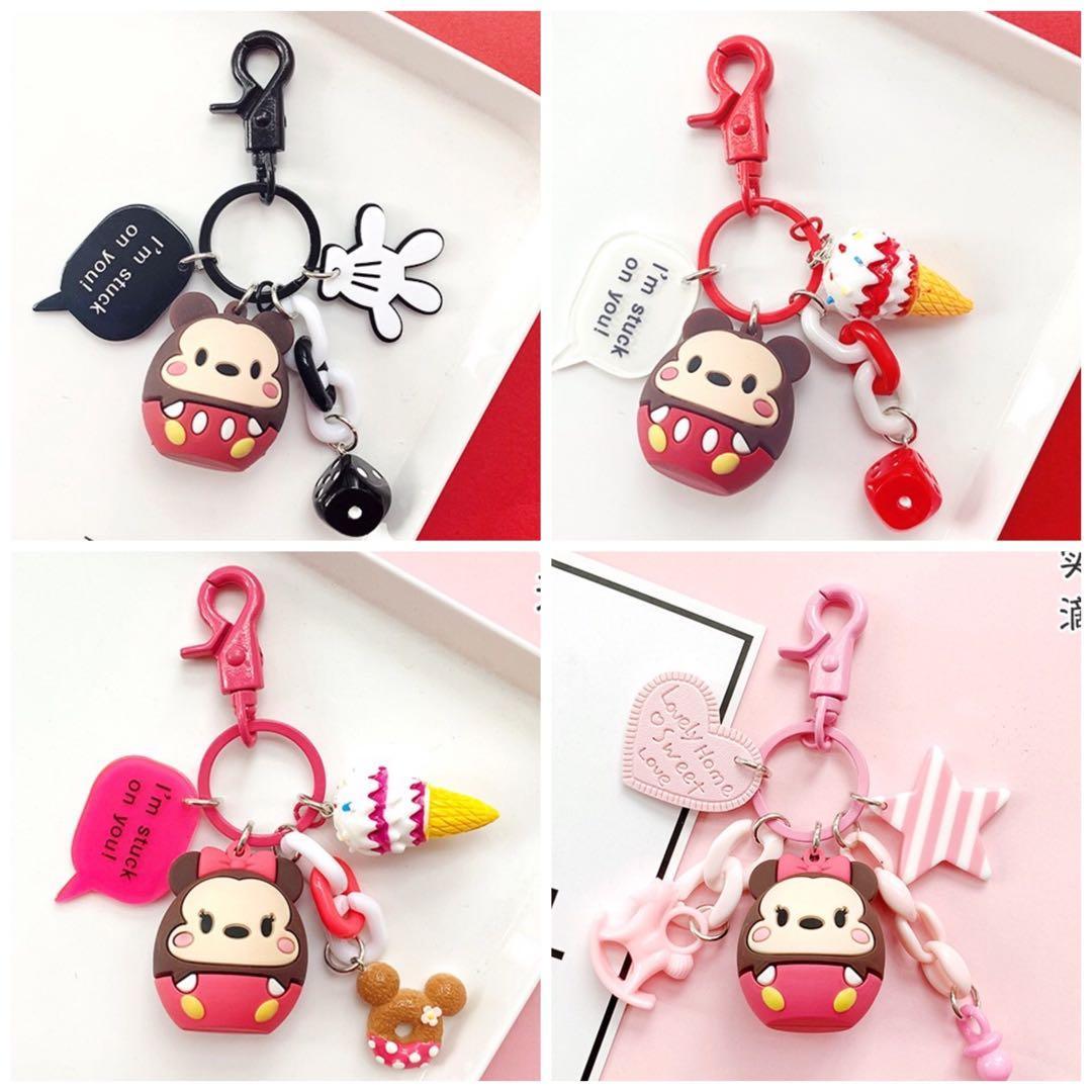 [po] Disney tsum tsum keychains