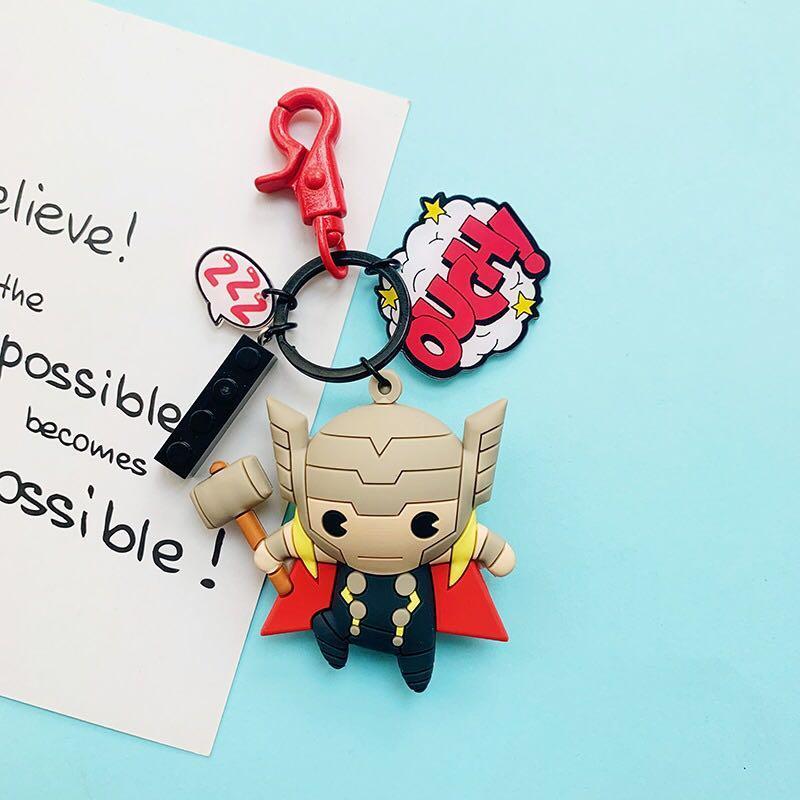[po] Marvel keychains