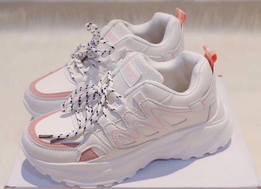 Prelove sepatu sneakers korea, Fesyen