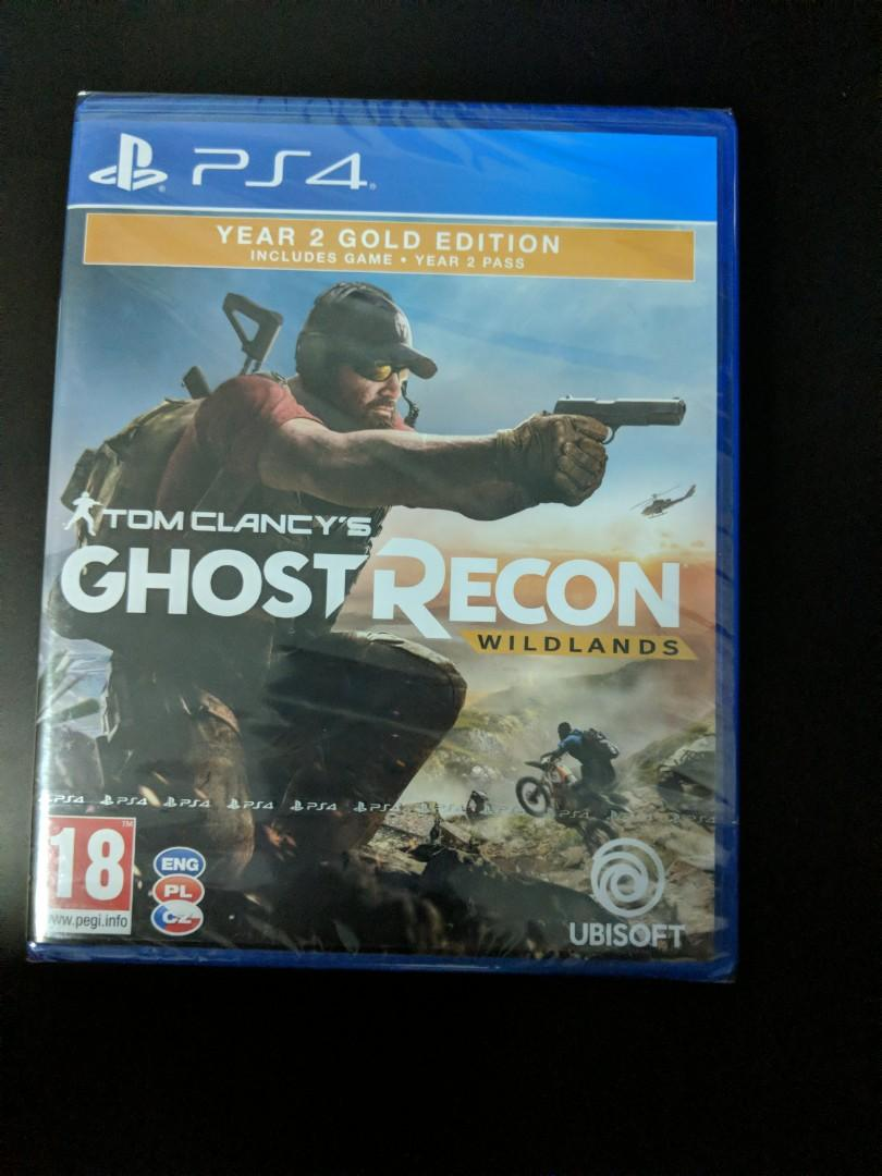 Ps4 Game Tom Clancys Ghost Recon Wildlands Year 2 Gold