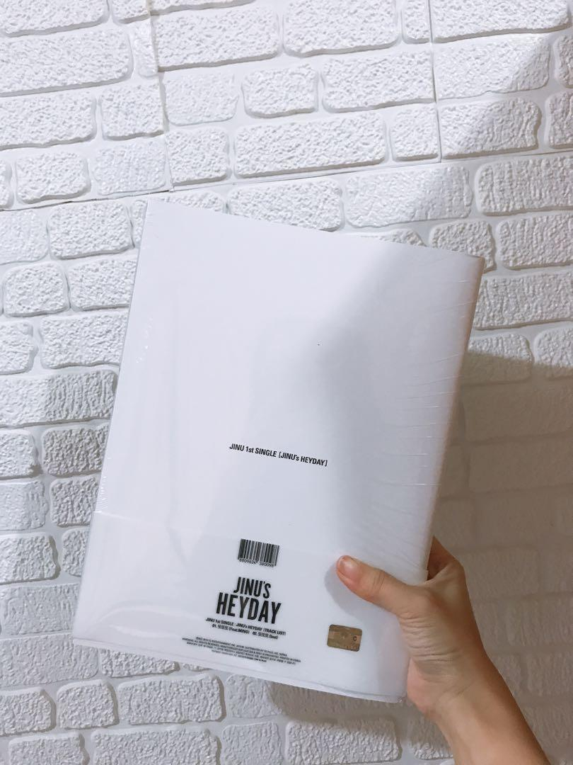 (Sealed) JINU's HEYDAY Bold Version Album READYSTOCK