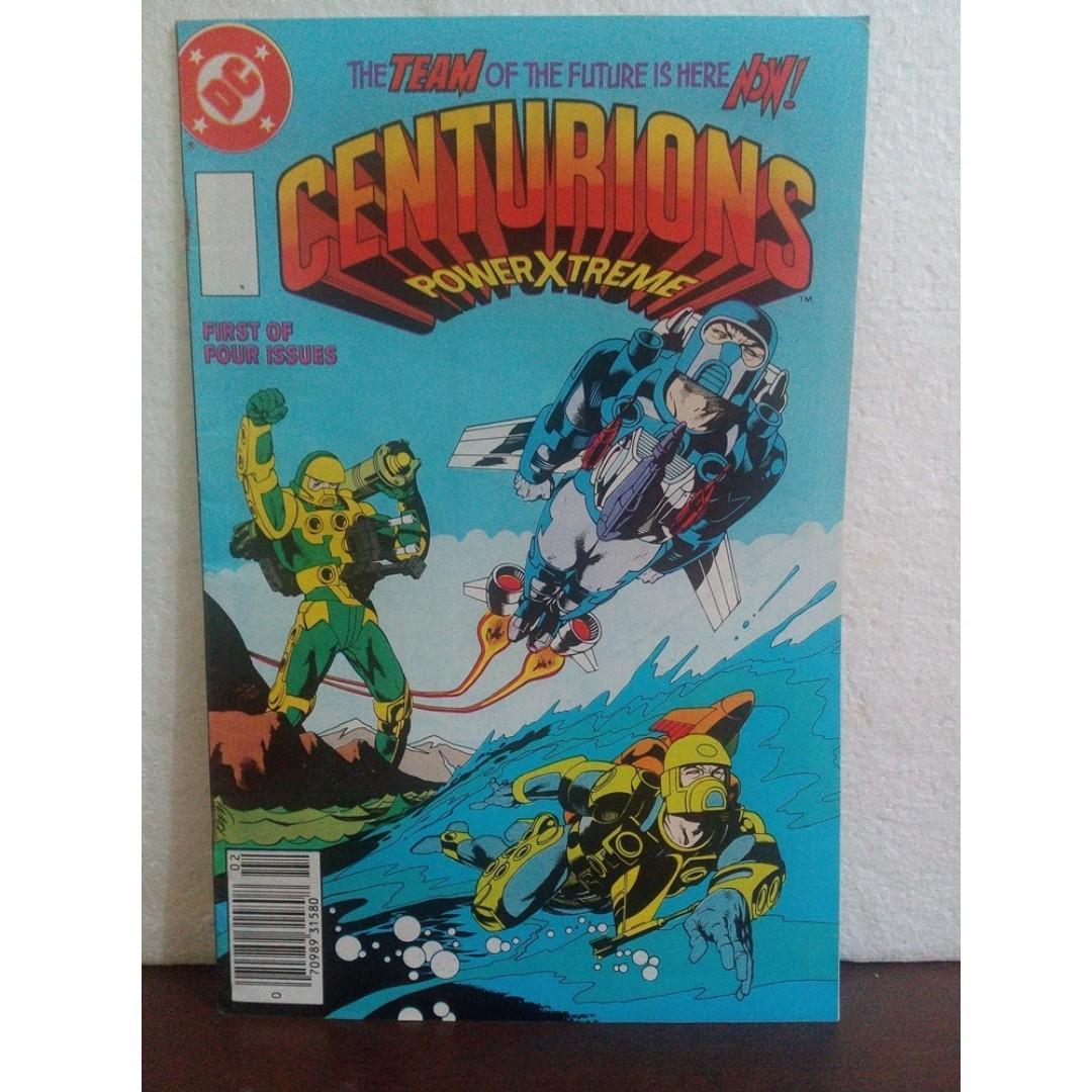 (Set) 2pcs Centurions and Sectaurs Vintage Comics set Cartoons 1990s 1980s  Animation