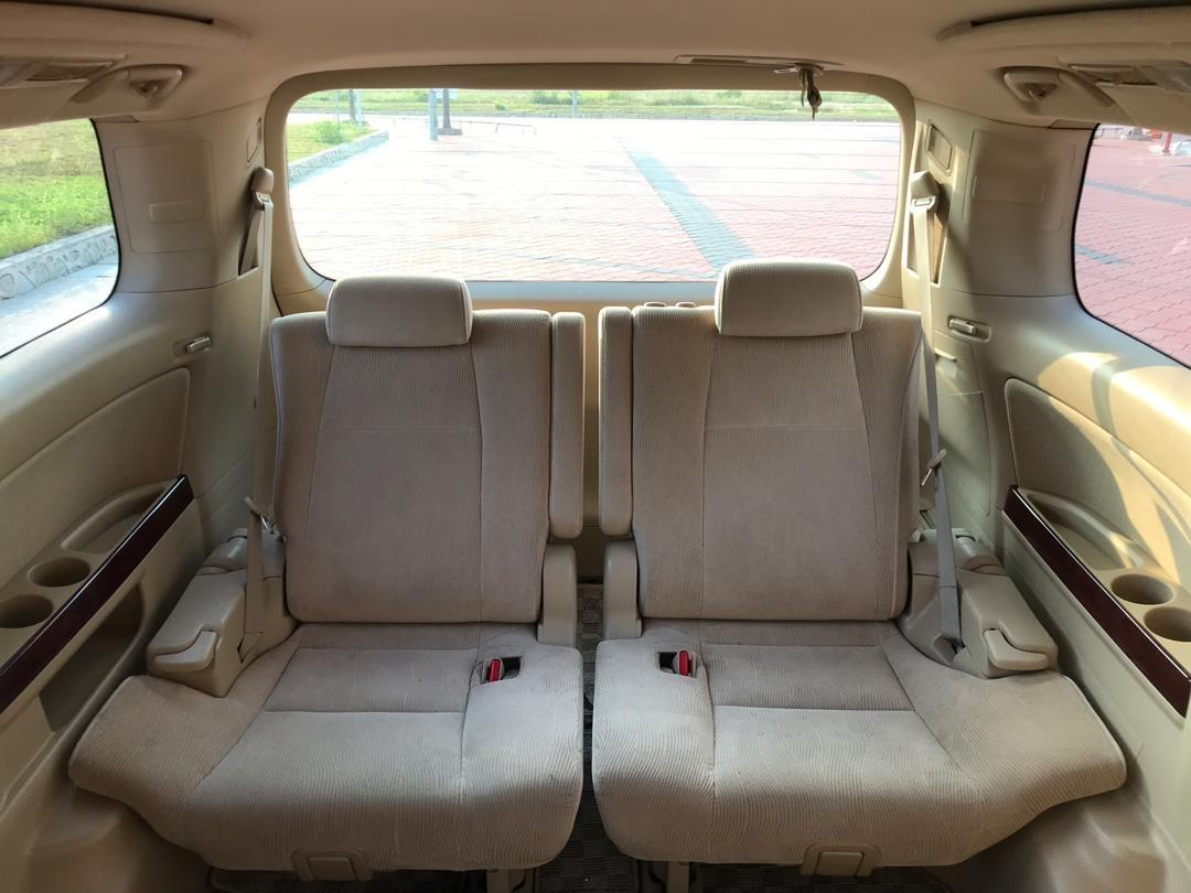 SEWA BELI>>Toyota Vellfire 2.4 7 Seaters 2010/2016