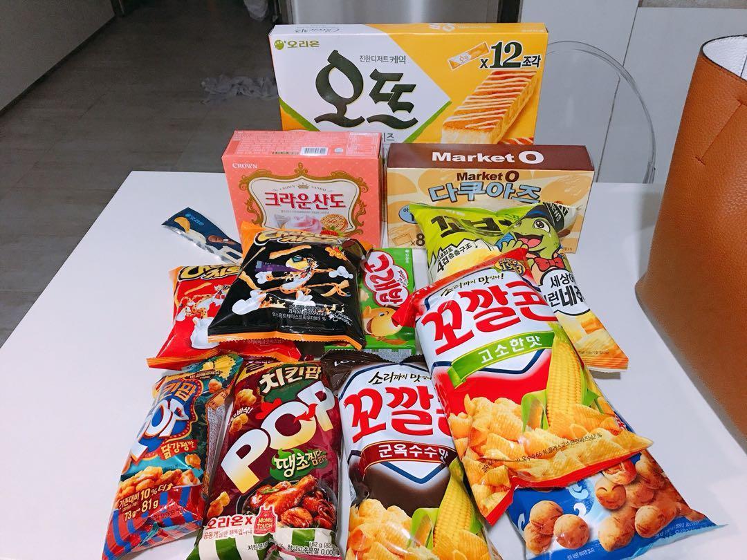 Snacks from Korea (3 for $5)
