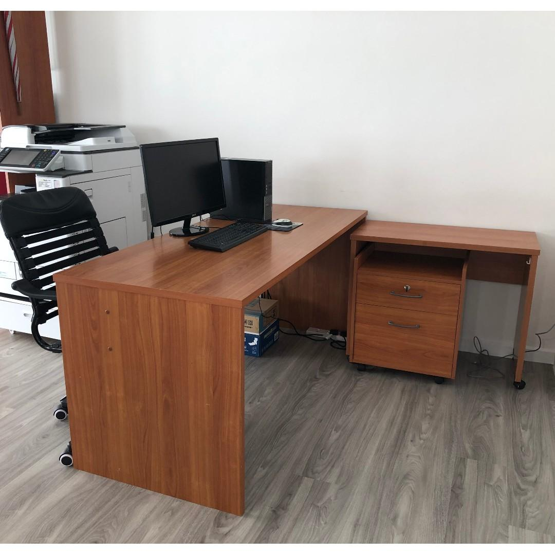 Used Office Table Set For S
