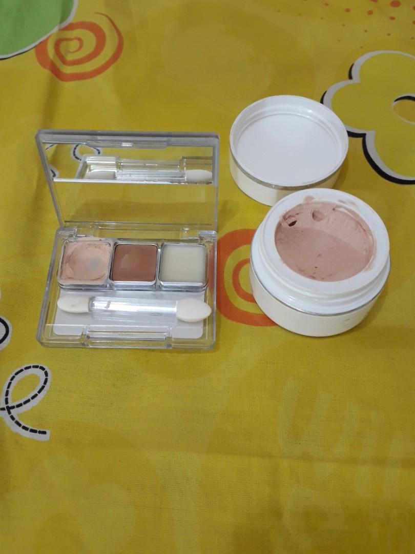 2 pcs/Latulipe cover Foundation warna Natural/Wardah  Double Function Kit