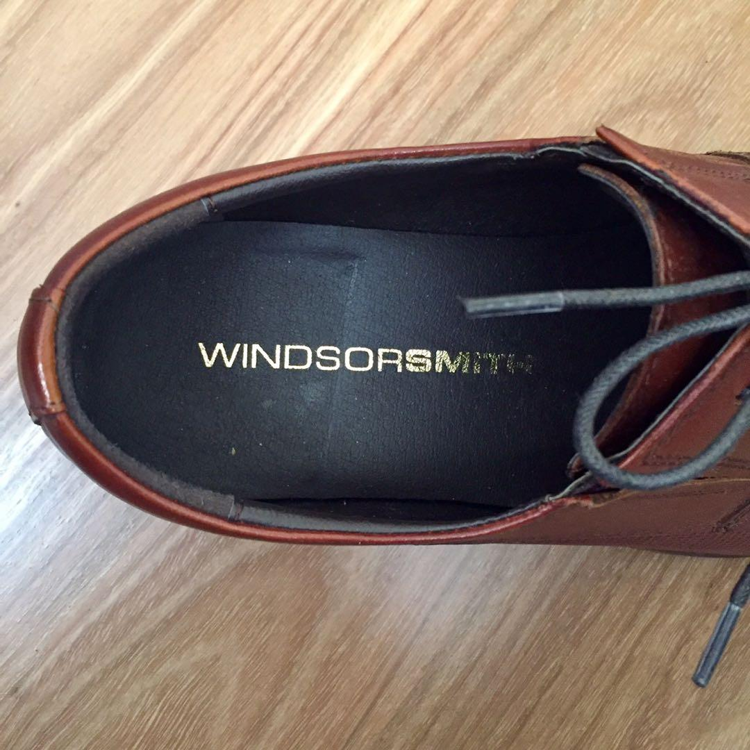 Windsor Smith | Dario Lace Up Whiskey Size 6 Mens Dress Shoes