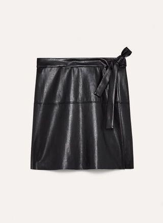 Aritzia Wilfred Free Spurlock Skirt - Black - Size M