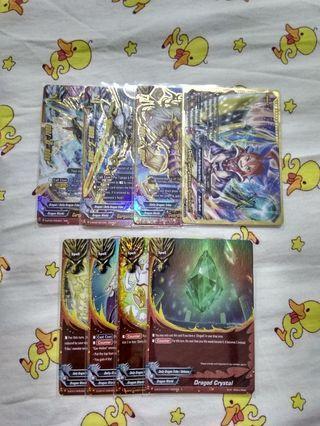 Selling Buddyfight cards altogether (Dradeity)