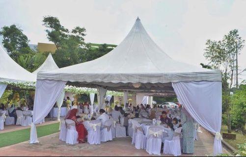 Sewa Set Lengkap Arabian Canopy 20'x20'