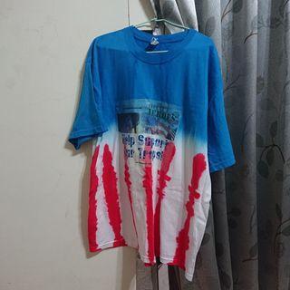 vintage 復古渲染短袖T