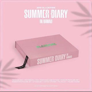 LOOSE item 💖blackpink summer diary 2019