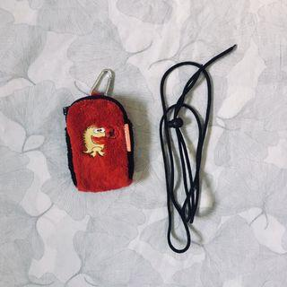 Small soft case (for earphones, small iPod, etc)