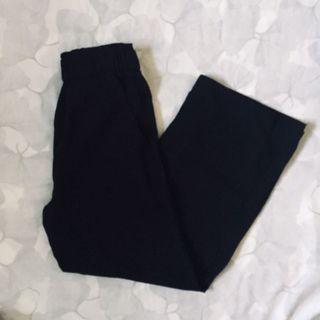 H&M Black long flowy pants