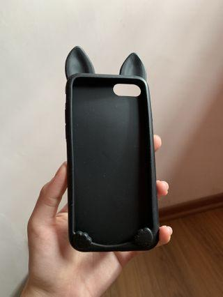 Cat Ear Silicone iPhone cover