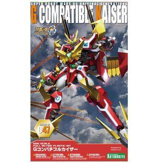 Super Robot Wars OG Original Generations G Compatible Kaiser  (Kotobukiya Model Kit) - New