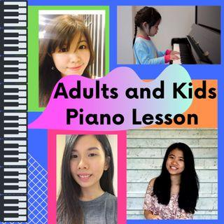 Adults and Kids Piano Lesson