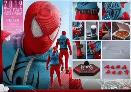hot toys spider man scarlet