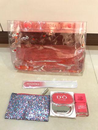 PANDORA water pouch & accessories