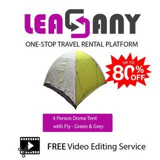 Rental: Camping Tent for 2-6 Persons