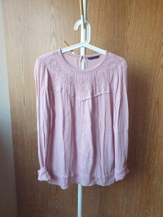 M&S Embroidered Blouse