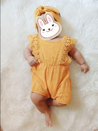 Romper baby (include bandana)