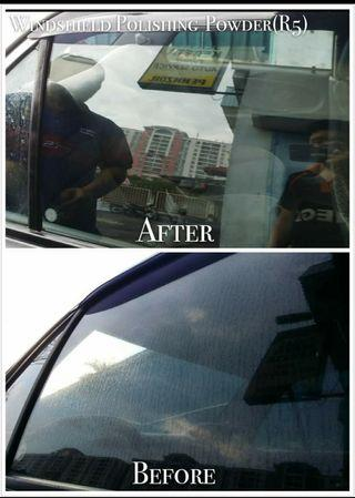 Effective Windshield Polishing Powder/ Watermark Remover/ Glass Cleaner/ Water Spot Remover/ Bathroom Shower Screen