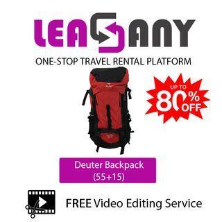Rental: Deuter Backpack (55+15) HIKING BACKPACK