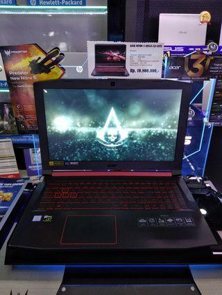 Laptop Acer Nitro 5 core i5 kredit cukup bayar dp mulai dari 1,5juta