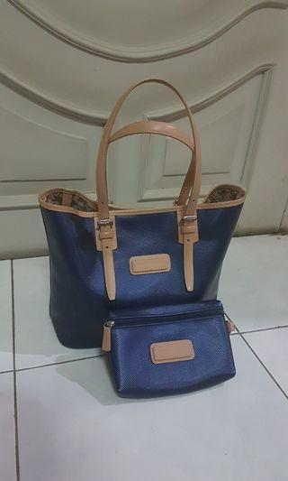 Longchamp Bag and Pouch