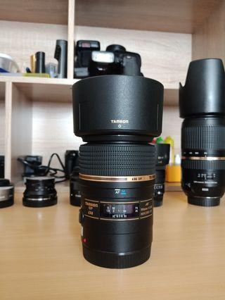 Lensa macro tamron 90mm f2.8 for canon