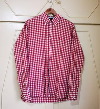 Authentic Tommy Hilfiger Checkered Button Shirt