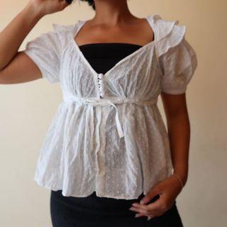 Bluse putih kore