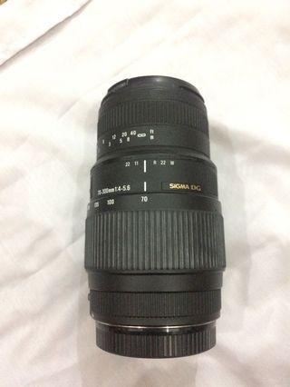 Lensa Tele Sigma 70-300 For Canon
