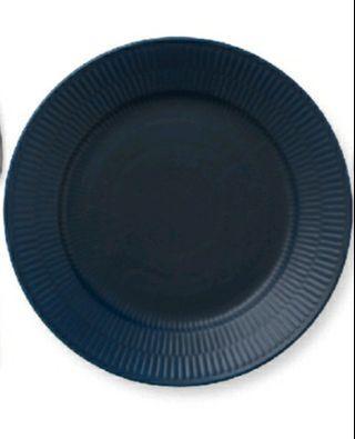 皇家哥本哈根藍瓷22cm圓盤