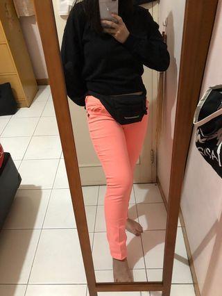Celana Panjang In Pink (Pink Long Pants)