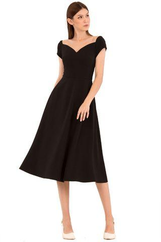 BNWT Doublewoot Drooklia Dress in Black