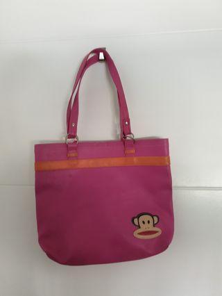 Striking Pink Paul Frank shoulder Bag