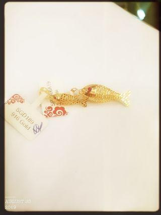 Gold 916 22K Pendant Locket