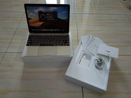 "Macbook Retina 12"" 2015 SSD 256Gb eks iBox Fullset"