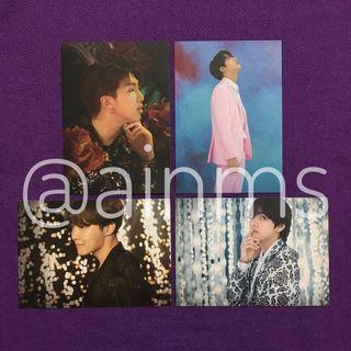 BTS VT Postcards