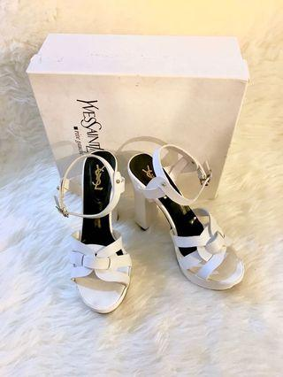 Ysl Tribute white size 39/40