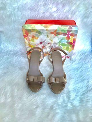 Melissa original nude shoes size 39/40