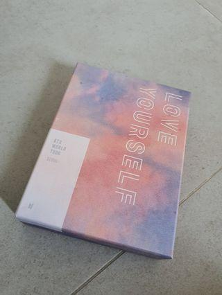 BTS love yourself tour in seoul dvd