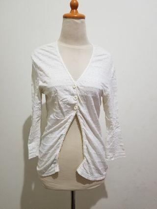 Outer wear Broken White