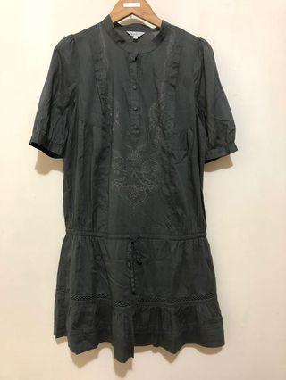 Bear Two 專櫃 刺繡洋裝