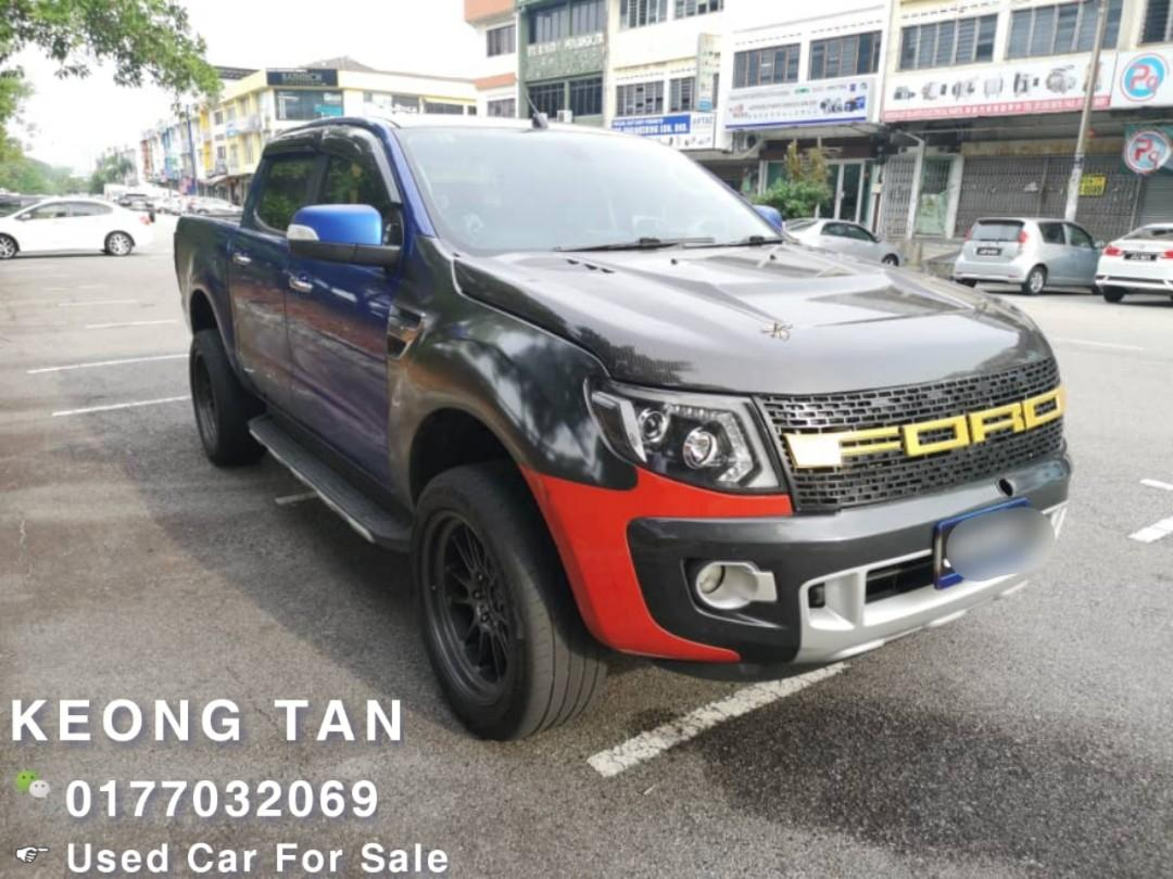 2012TH FORD RANGER 2.2 XLT (A) 4X4 HI RIDER🚘 Cash💰OfferPrice💲Rm45,800 Only‼ LowestPrice InJB‼ Interested Call📲Keong 🤗