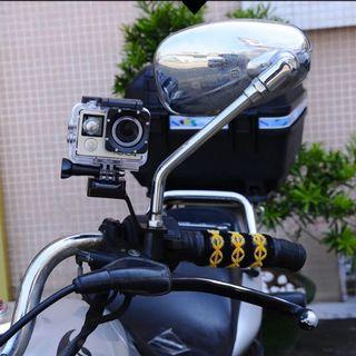 Motorcycle Fixed Holder Stent for Gopro Hero Action Camera