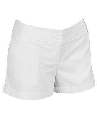 Forever21 F21 White Shorts